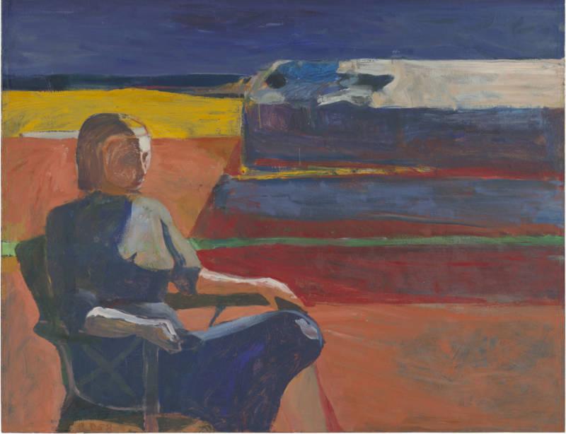Richard Diebenkorn's Woman on a Porch