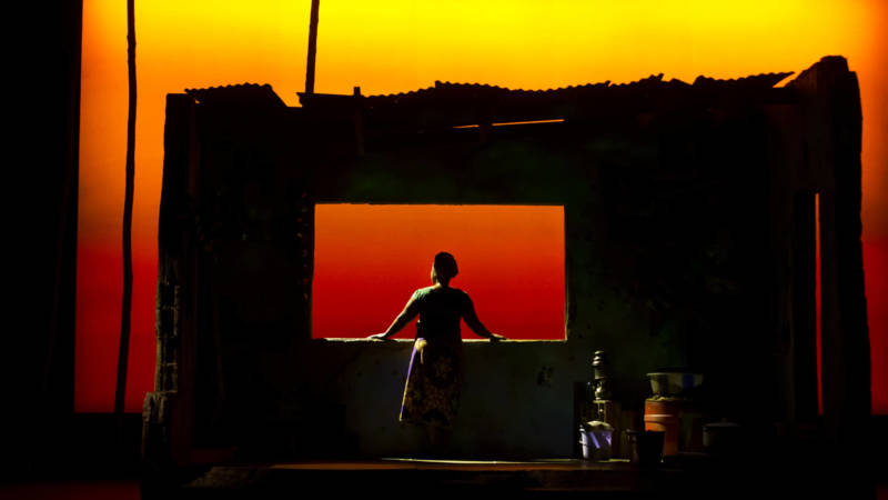 Stacey Sargeant in 'Eclipsed' at the Curran Theatre in San Francisco