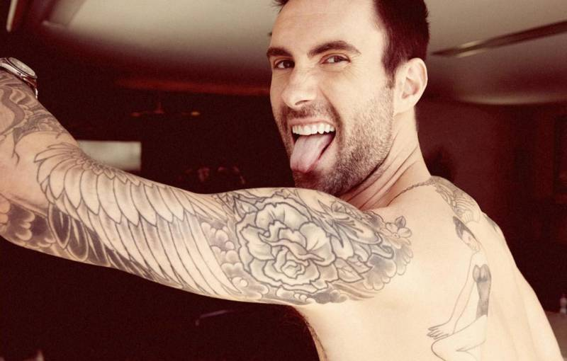 Adam Levine of Maroon 5.