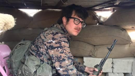 Brace Belden in Syria