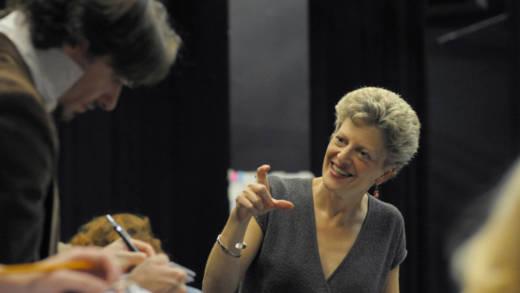 Artistic Director Carey Perloff.