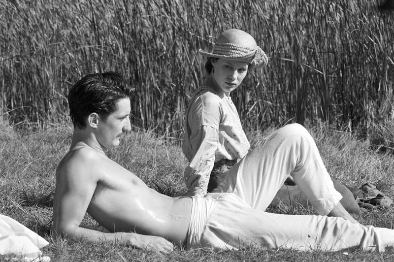 Pierre Niney and Paula Beer in 'Frantz'. (Photo: Jean-Claude Moireau - Foz/Courtesy of Music Box Films)