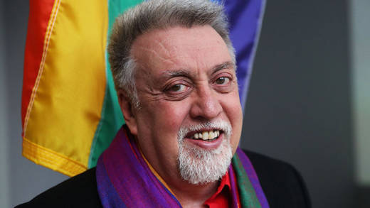 Gilbert Baker, designer of the rainbow flag, died Mardch 31 at the age of 66.