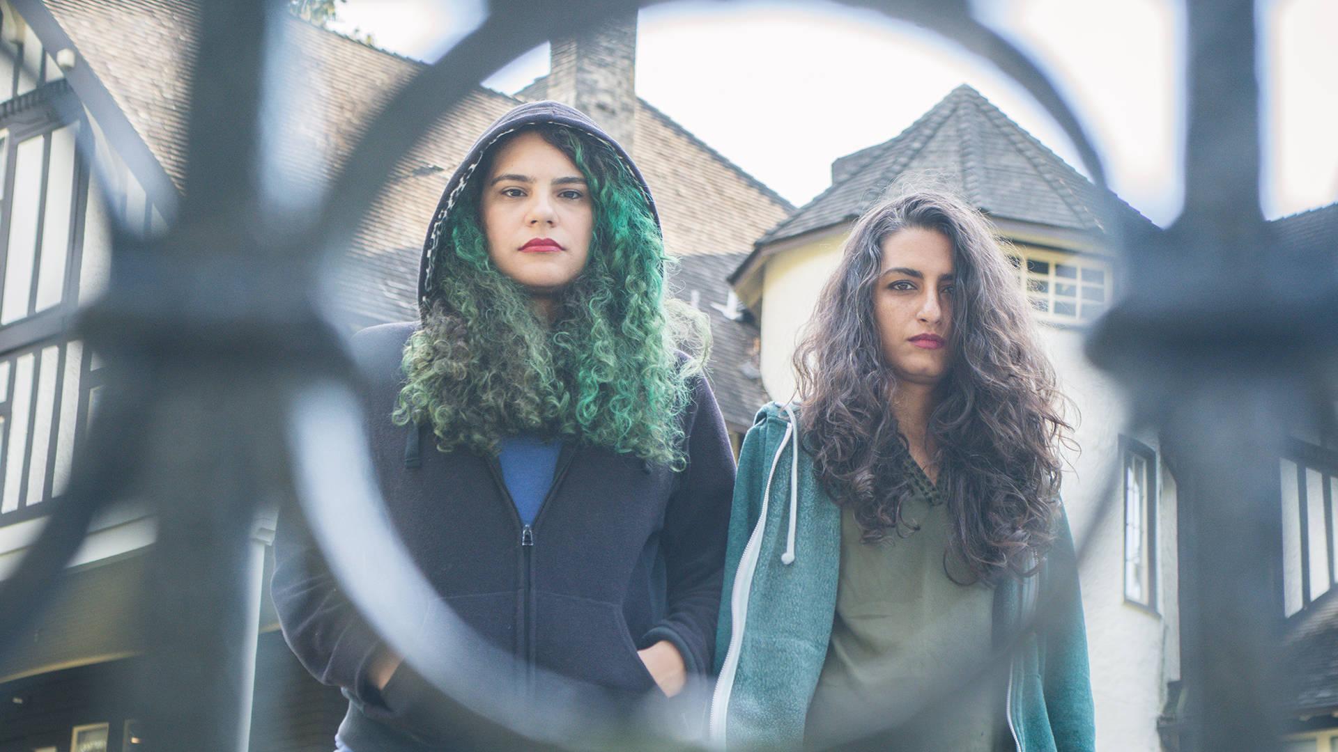 Cherine Amr and Nancy Mounir (L–R) of Massive Scar Era. Photo: My City Photos