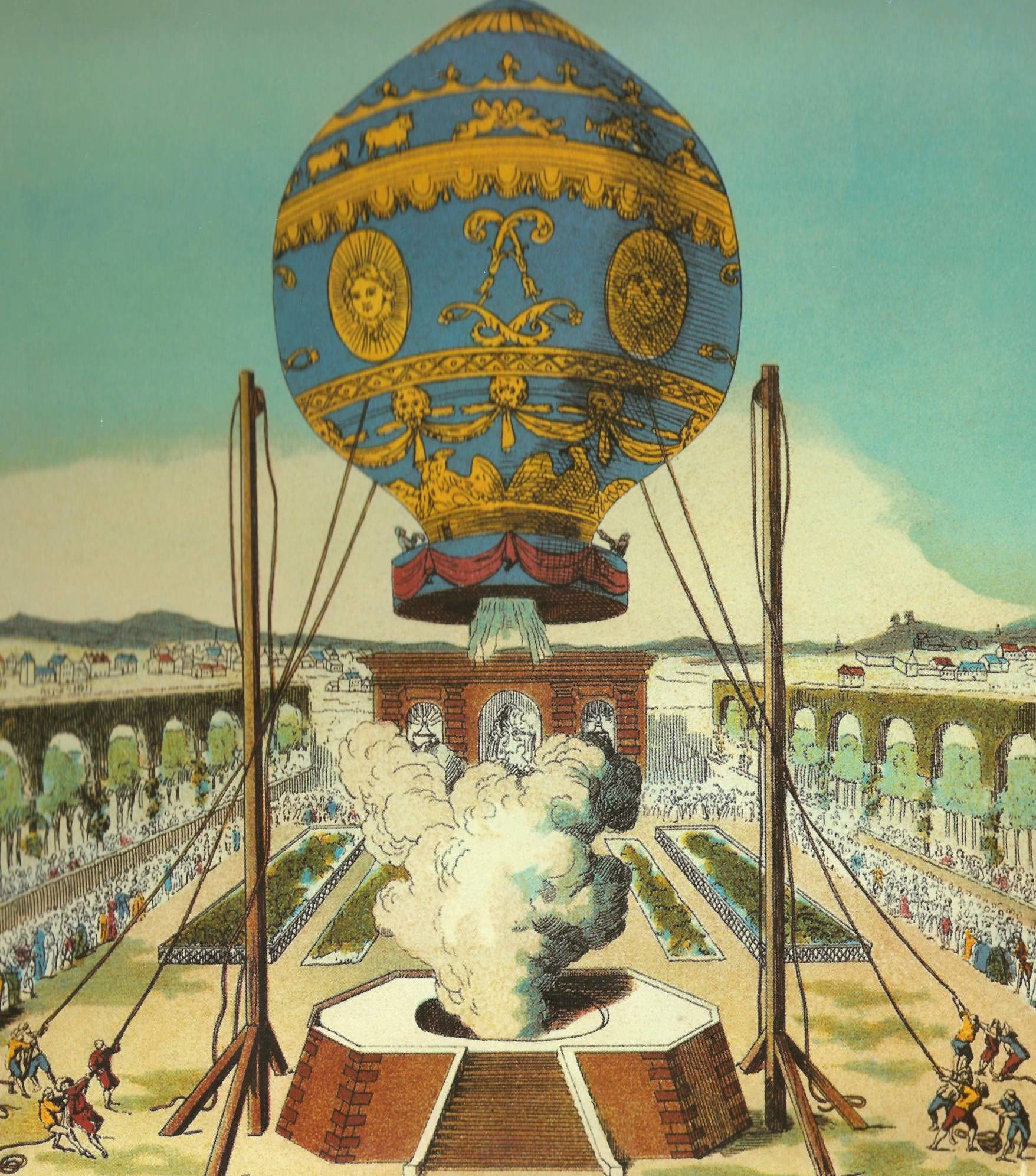 Montgolfier Hot Air Baloon