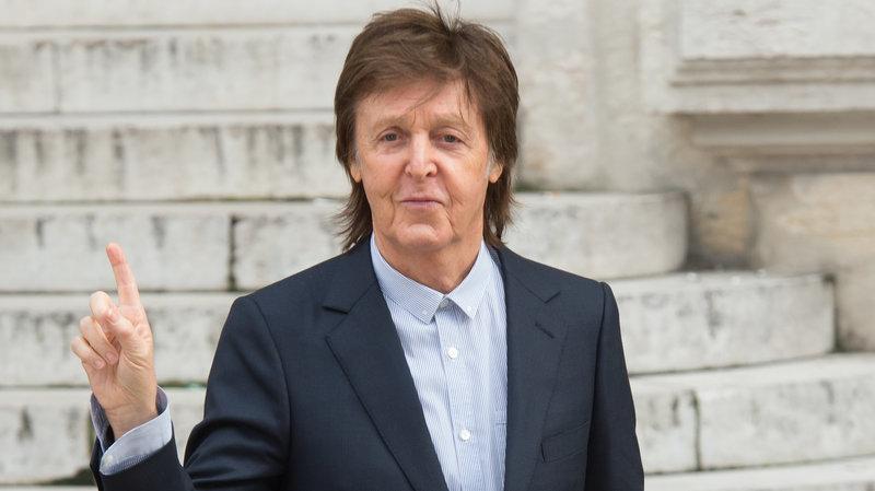 Paul McCartney During Paris Fashion Week 2016 Photo Zak Hussein Corbis Via Getty Images