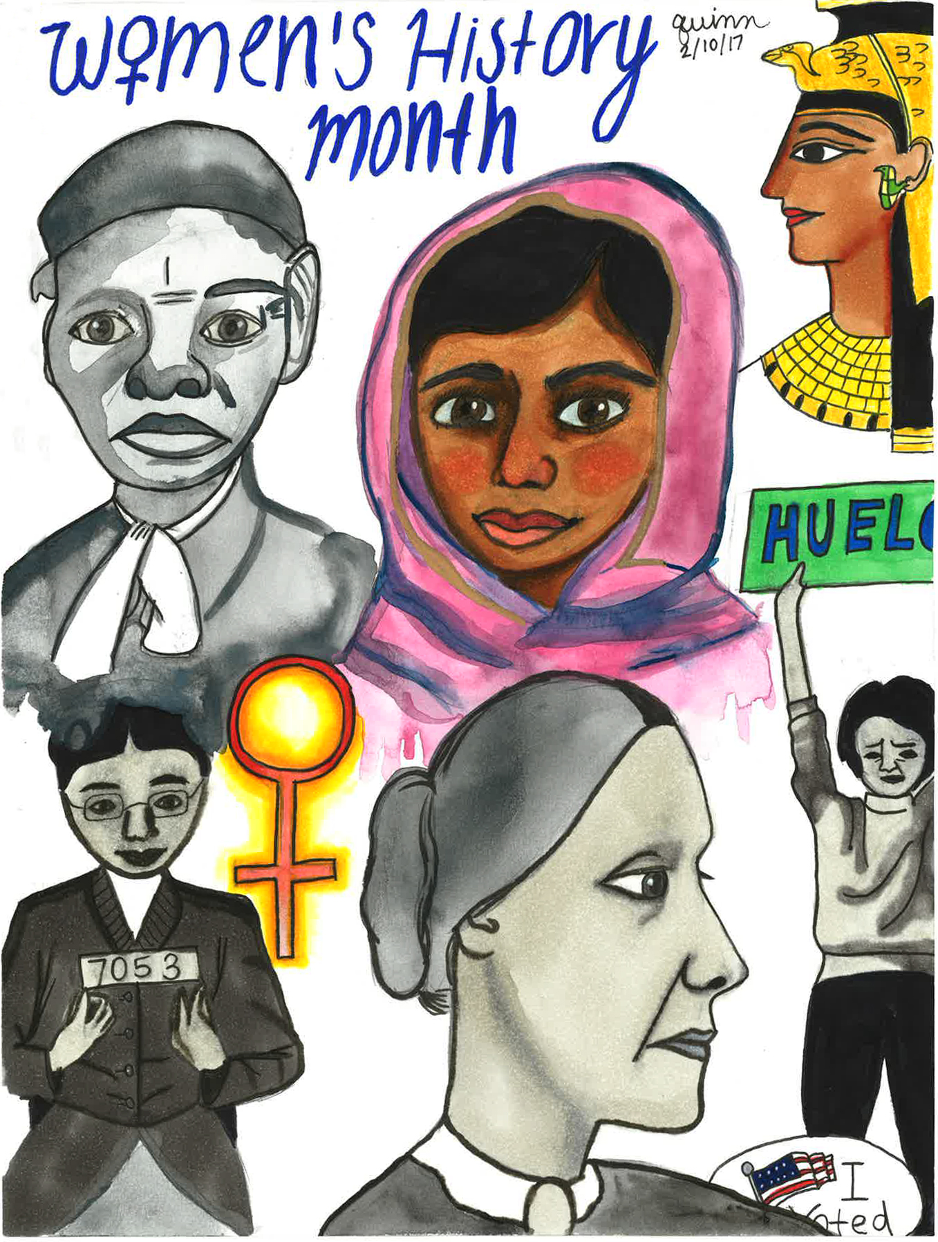 Quinn Nelson, 'Women's History Month.'