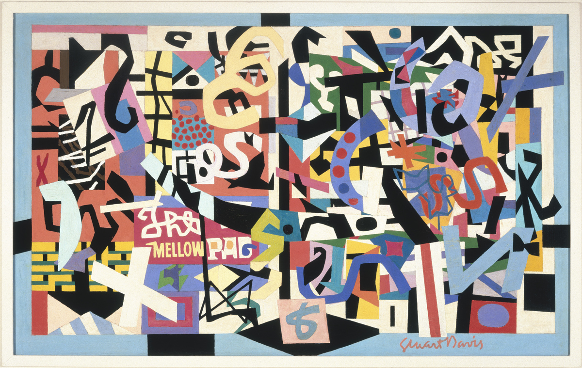 Stuart Davis, 'The Mellow Pad,' 1945-51.