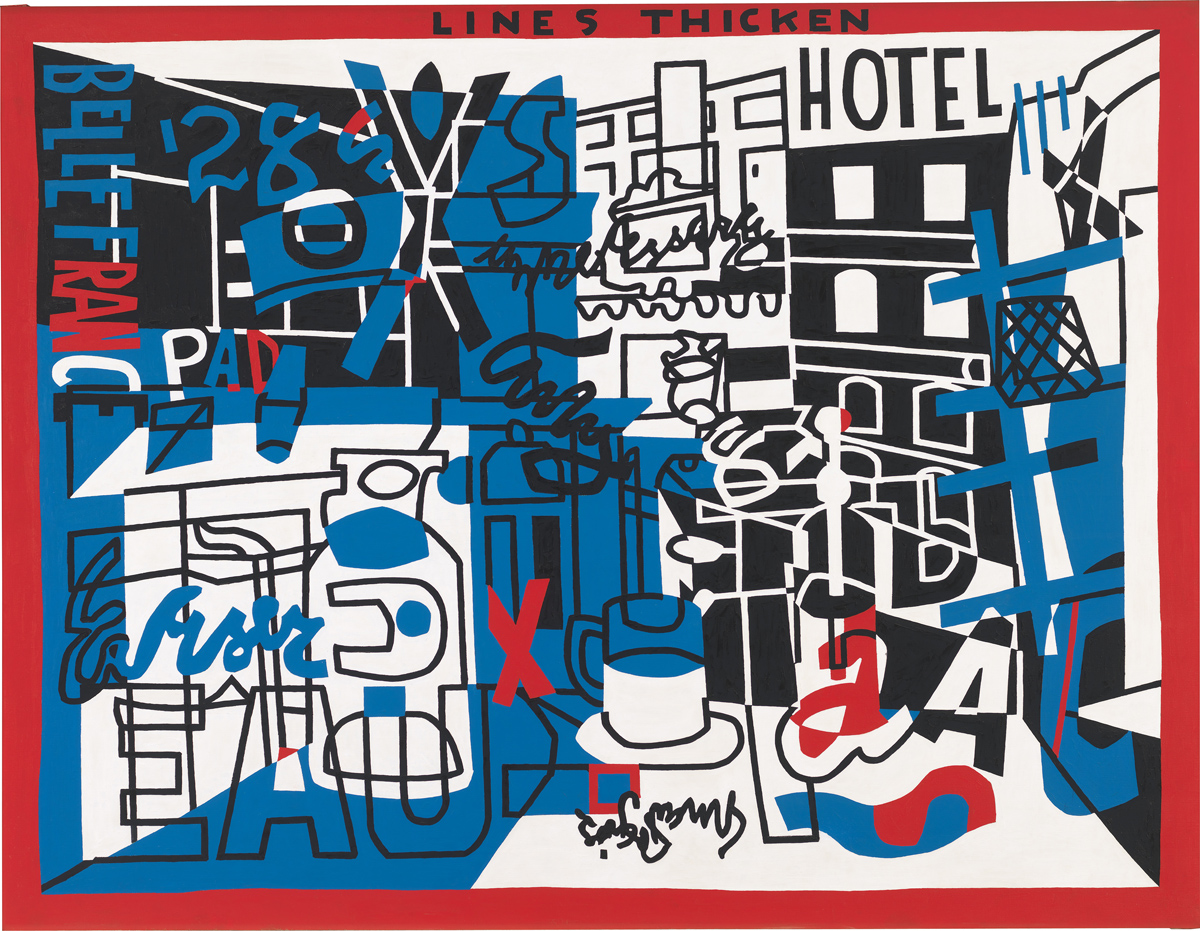 Stuart Davis, 'The Paris Bit,' 1959.