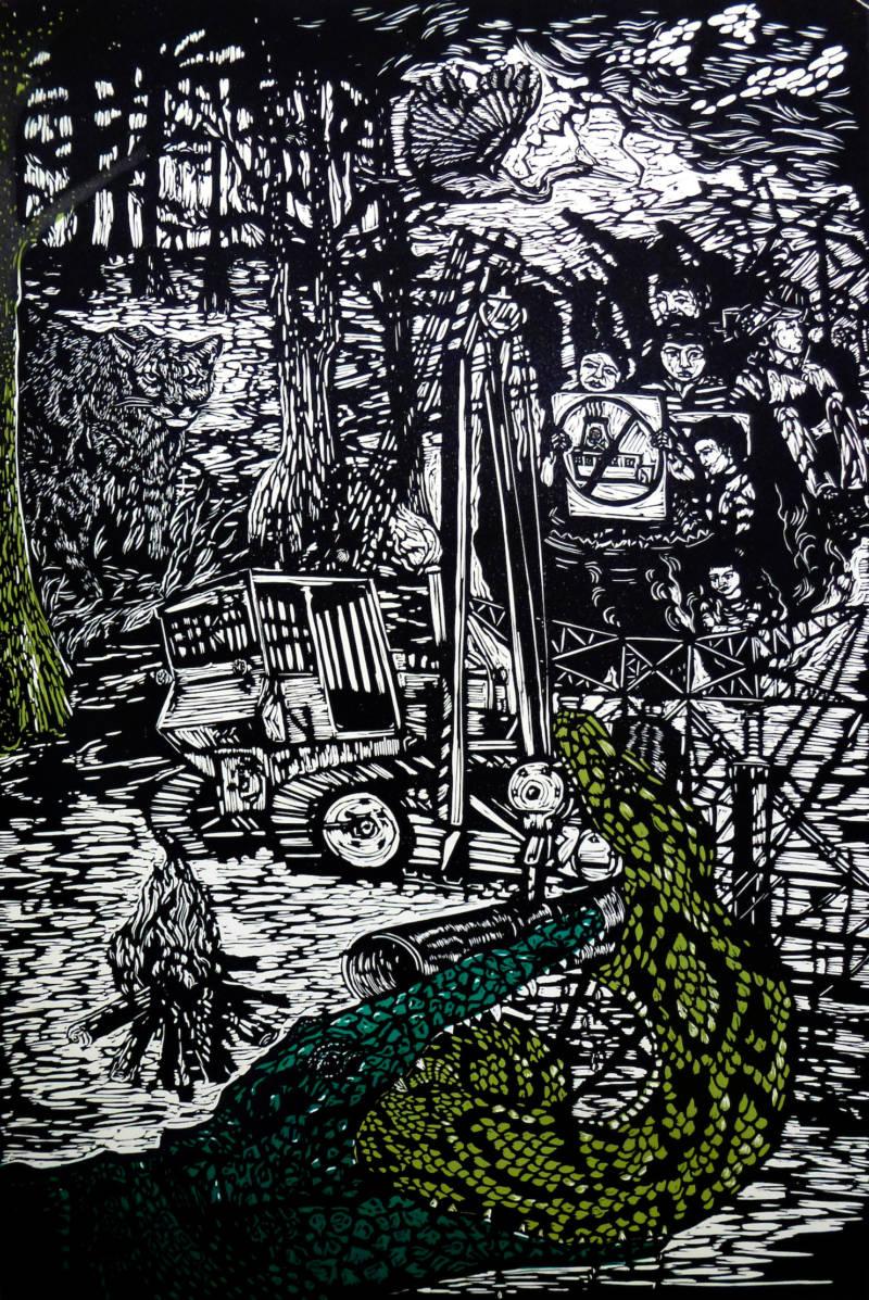 Thea Gahr, 'Everglades Forever,' 2016.