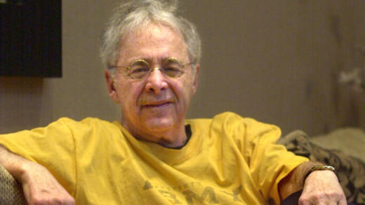 In 2002, Chuck Barris, the man behind TV's 'The Dating Game' and 'The Newlywed Game' posed in the lobby of his apartment in New York. That was the year a movie came out based on his autobiography: 'Confessions of a Dangerous Mind.'