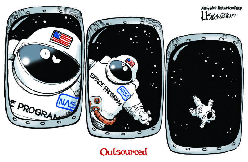 Lisa Benson's take on cuts to the NASA program.