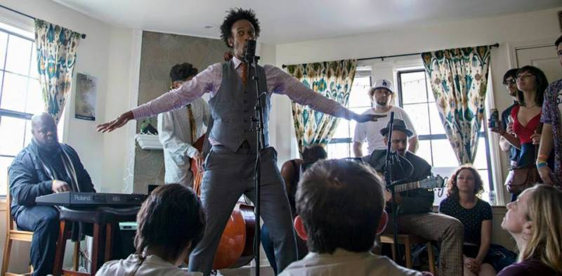 Fantastic Negrito performs at a Sofar Sounds show in Austin in March 2015.