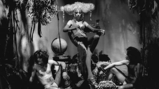Scene from Steven Arnold's 'Luminous Procuress,' 1971.