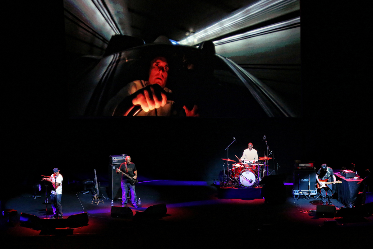 Asian Dub Foundation performs a live score of George Lucas's 'THX 1138.'