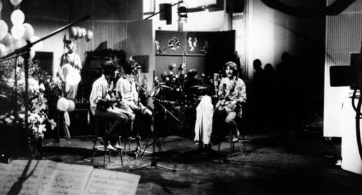 The Beatles in the BBC studios in June of 1967