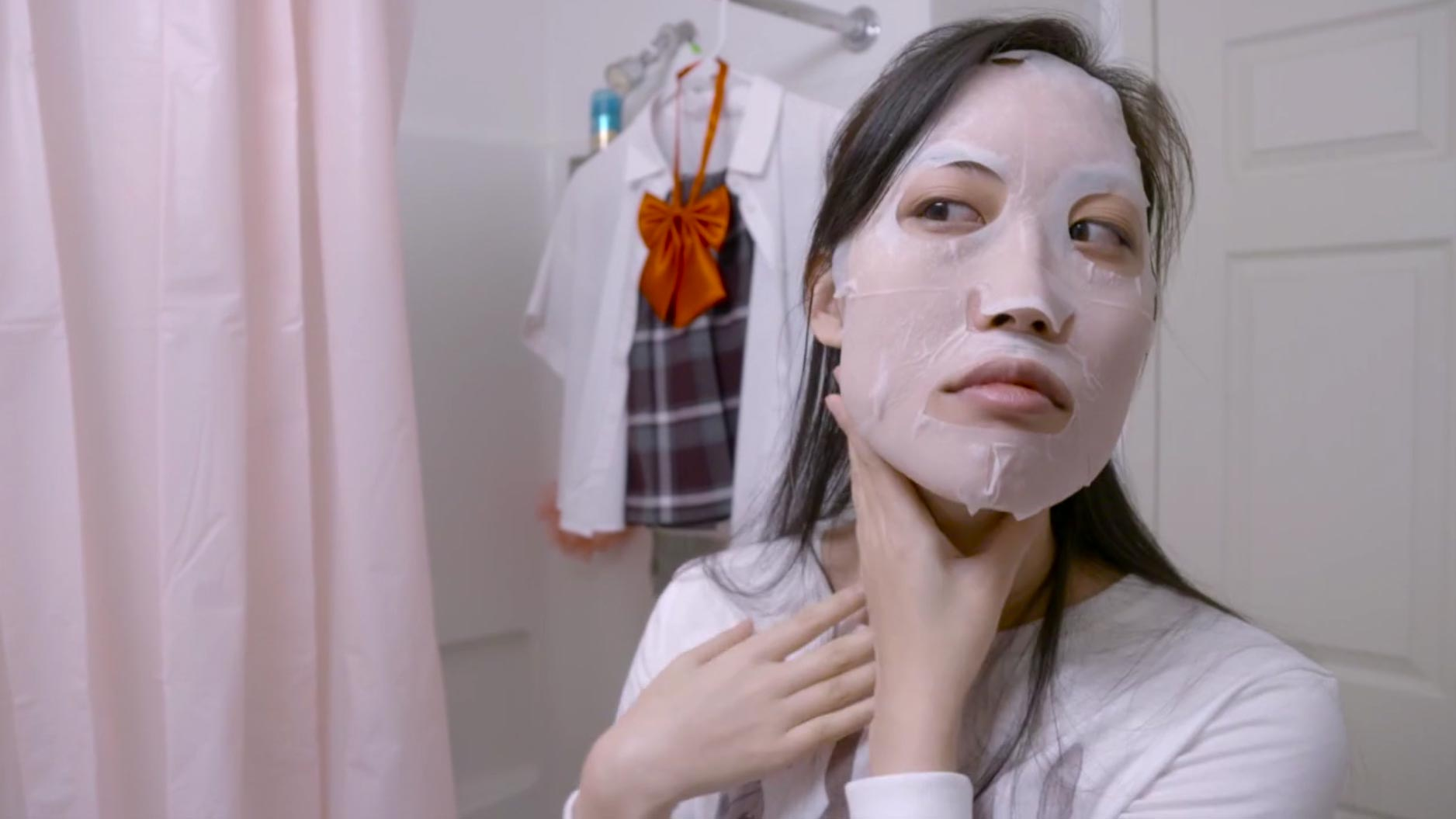 Still from featured film 'Hard-Boiled Mask and the Art of Blossoming,' by Rose Chang.