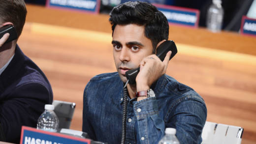 Hasan Minhaj attends The Night Of Too Many Start Live Telethon in 2015 in New York City.