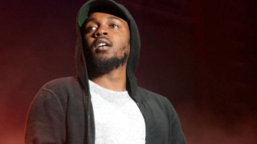 Kendrick Lamar performs at Outside Lands, Aug. 8, 2015.