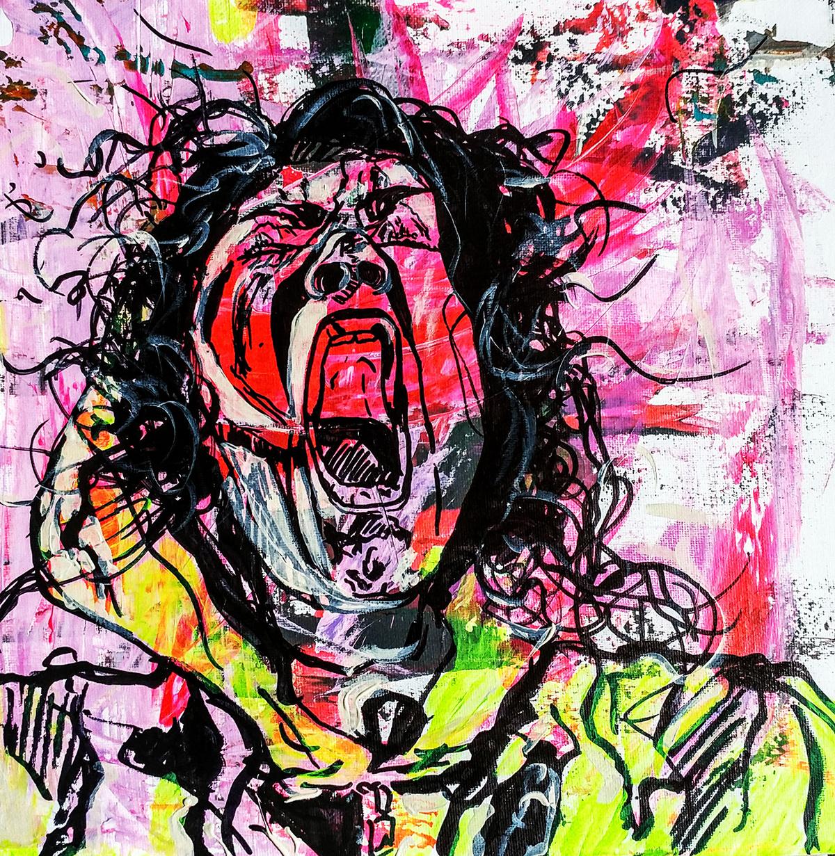 Monica Tiulescu, 'Yawning.'