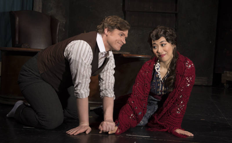 Kirk Dougherty (Rodolfo) and Sylvia Lee (Mimi) star in San Jose Operas new production of La bohème