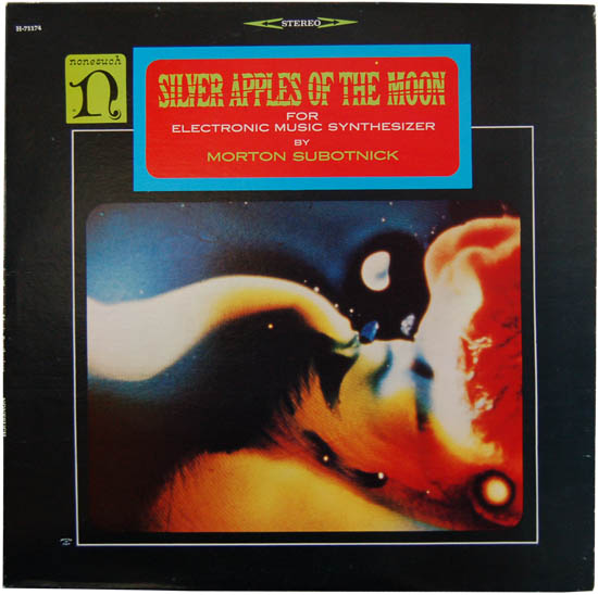 Original cover for 'Silver Apples of the Moon'