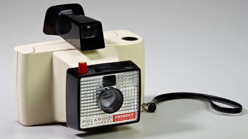 Henry Dreyfuss and James Conner, 'The Swinger,' Land Camera Model 20 for Polaroid, 1965.