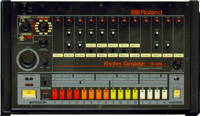 Roland's TR-808 drum machine, which would go on to have an outsized impact on popular music.