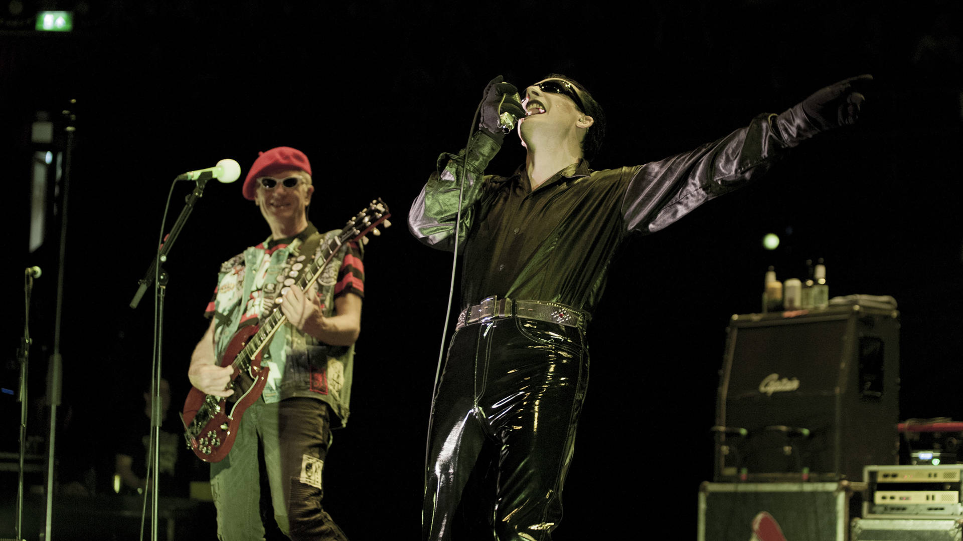 The Damned playing their 40th Anniversary show at Royal Albert Hall in 2016 Photo: Dod Morrison