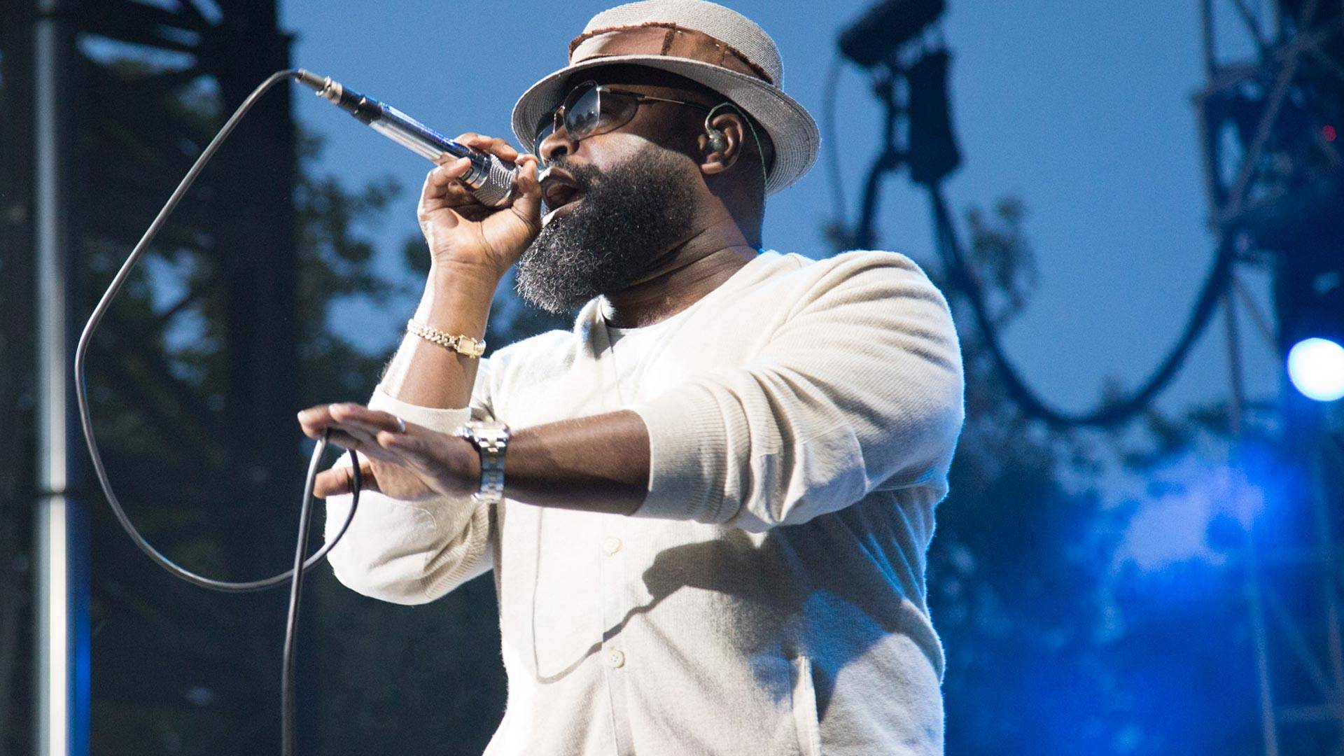 Black Thought of the Roots performs at BottleRock in Napa, May 28, 2017.