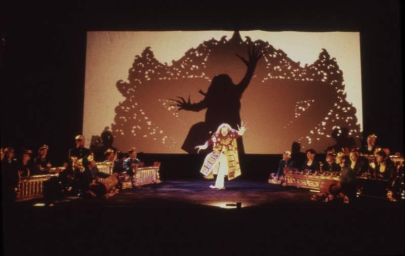 Gamelan Sekar Jaya in the world premiere of 'In Visible Light'