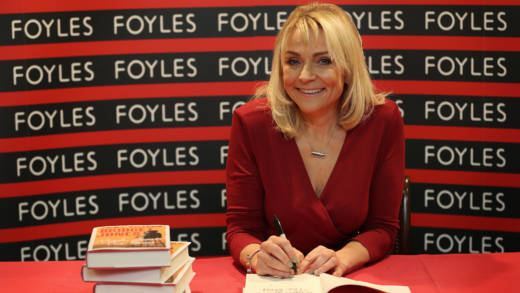 Helen Fielding at signing her latest Bridget Jones book 'Mad about The Boy' at Foyles bookshop in 2013