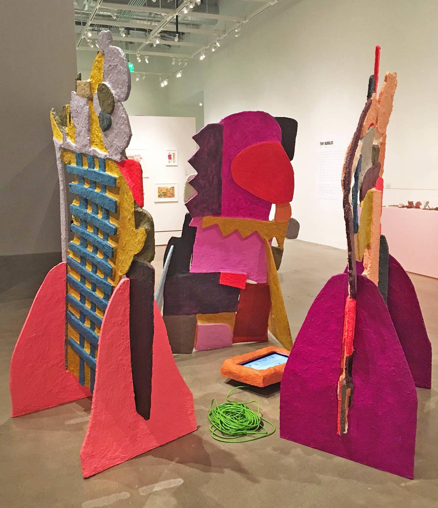 Megan Reed's installation.