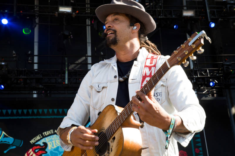 Michael Franti is one of several Bay Area artists scheduled to perform at a public event at Civic Center on Saturday, Aug. 26 to protest a nationalist gathering at Crissy Field.