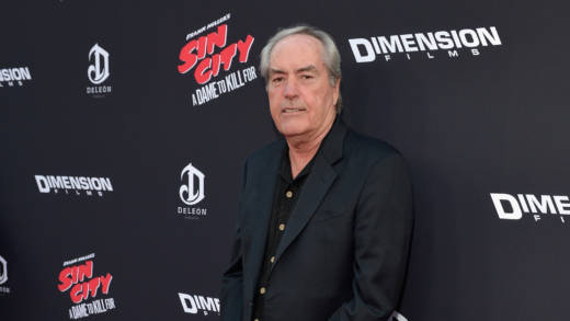 Powers Boothe attends 'Sin City: A Dame To Kill For' premiere in 2014.