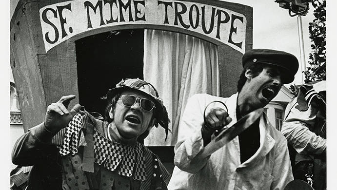 San Francisco Mime Troupe, c. 1966.