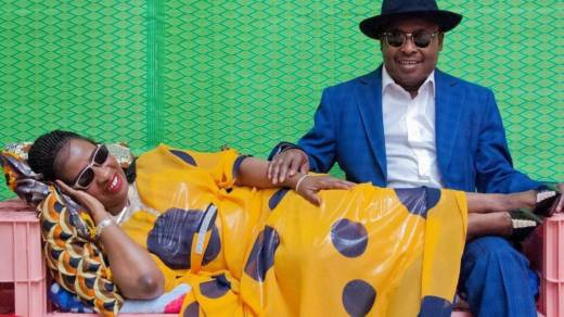 Amadou & Mariam, from Mali, perform at Stern Grove on Aug. 6.