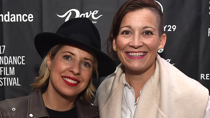 Chief Content Officer, Refinery29, Inc. Amy Emmerich, Tiffany Shlain attend the Women At Sundance Brunch - 2017.