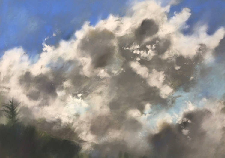 A painting by San Anselmo artist Wendy Goldberg, who is showing her work during Marin Open Studios May 6-7