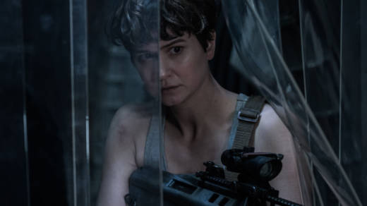 Katherine Waterston as Daniels in 'Alien: Covenant.'