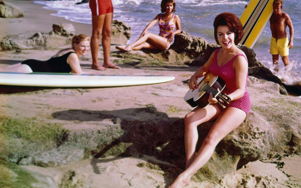 Annette Funicello makes a bid for the Song of the Summer in 1963. Buena Vista Records