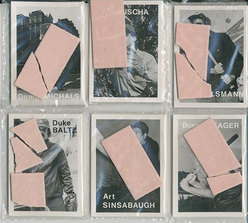 Mike Mandel, 'Baseball-Photographer Trading Cards,' 1975.