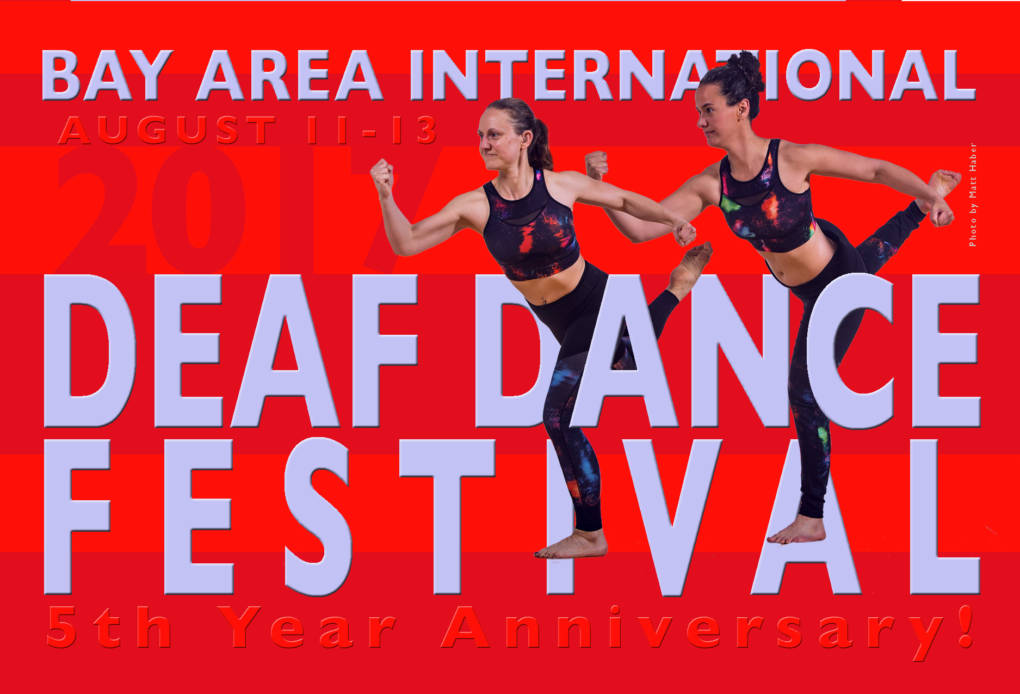 Bay Area International Deaf Dance Festival flier
