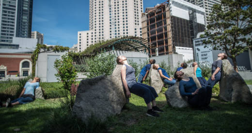 The Axis Dance Company will perform a new site specific piece called Occupy at Yerba Buena Gardens in San Francisco July 1 and 2