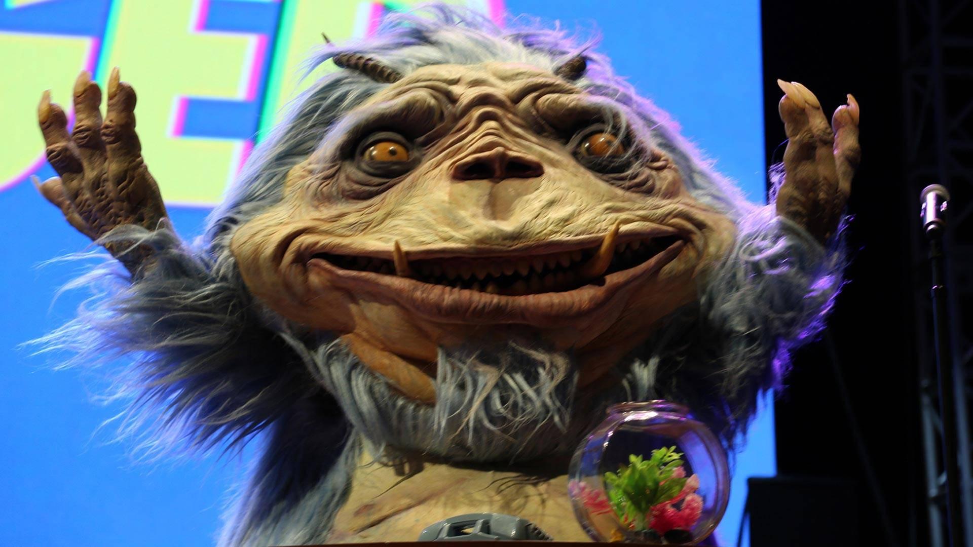 T.J. Miller as the alien Gorburger. Kevin L. Jones/KQED