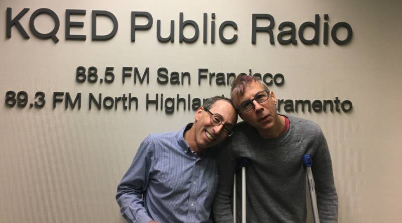 KQED's Cy Musiker and Do List guest co-host John Vanderslice
