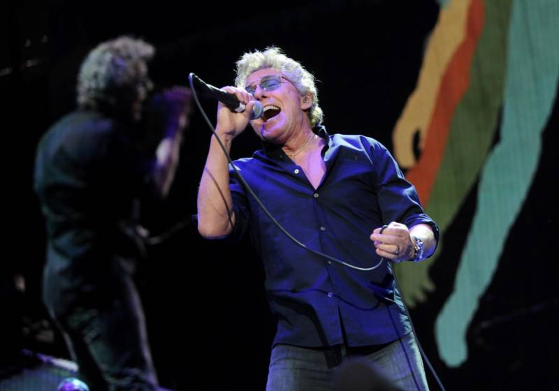 Roger Daltrey of the Who performs at Desert Trip in Indio, Calif., in 2016.