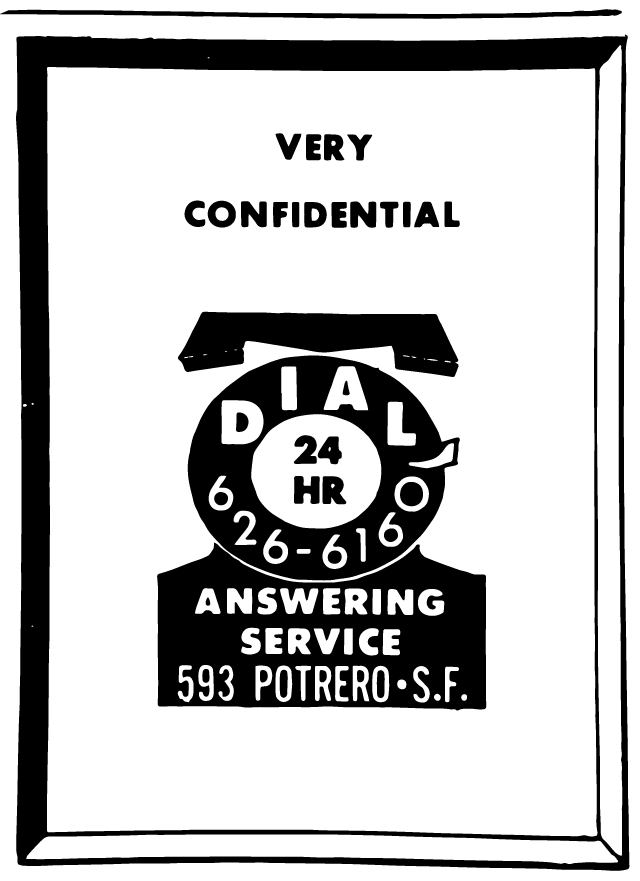 An ad in the April 1966 issue of 'Vector.'