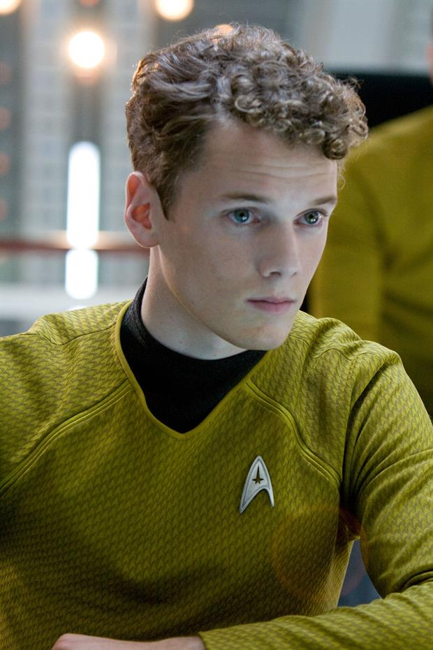 Anton Yelchin in 'Star Trek' (2009).