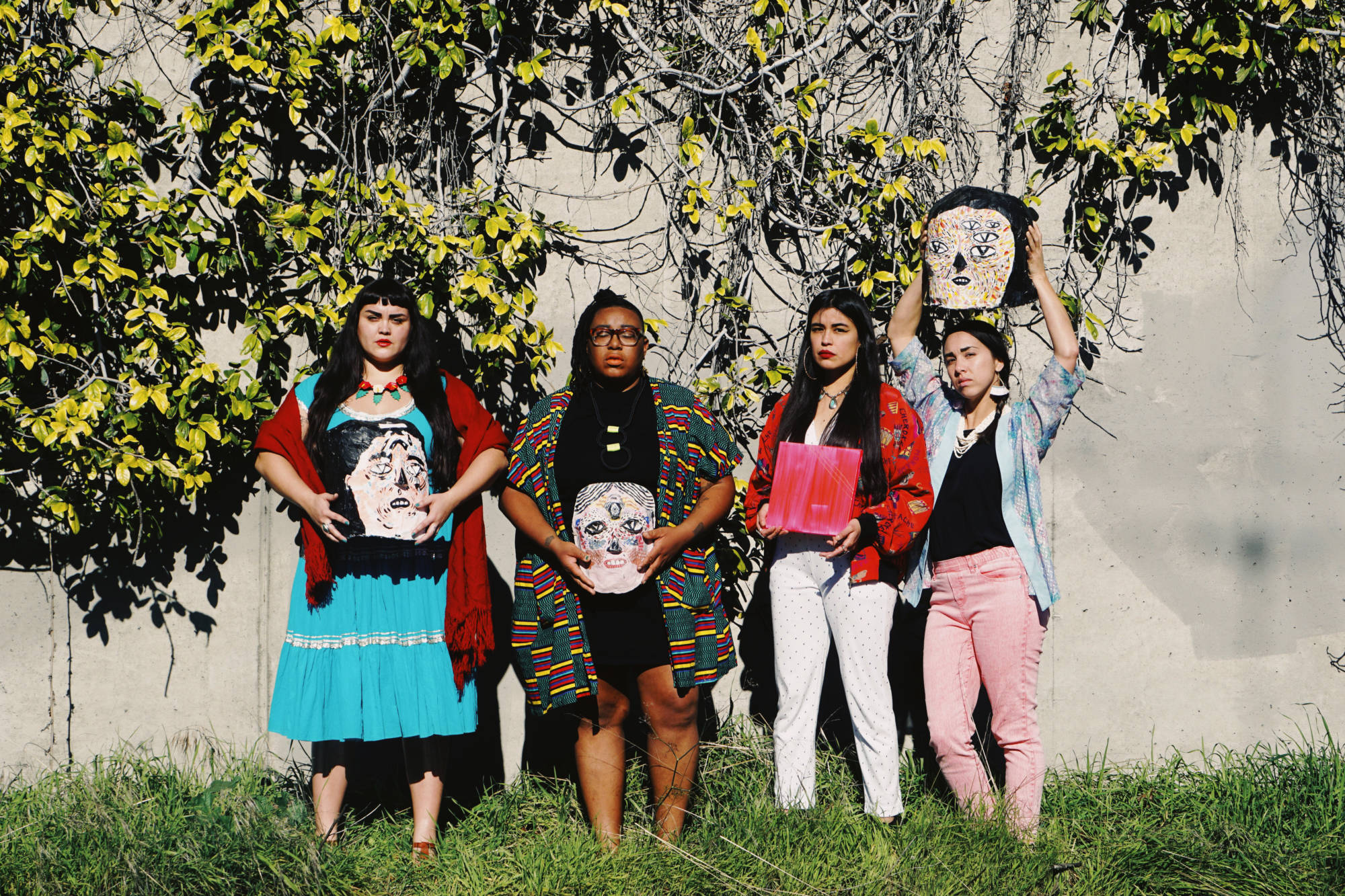 Black Salt Collective: Sarah Biscarra-Dilley, Adee Roberson, Grace Rosario Perkins and Anna Luisa Petrisko